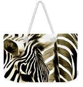 Beautiful Zebras Weekender Tote Bag