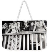 Beauty And Balconies Weekender Tote Bag