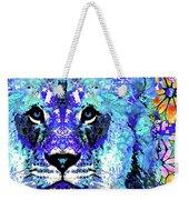 Beauty And The Beast - Lion Art - Sharon Cummings Weekender Tote Bag