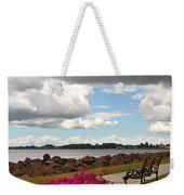 Beauty And The Bench Weekender Tote Bag