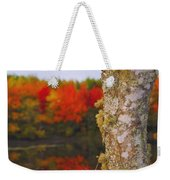 Beauty And The Birch - Nova Scotia Weekender Tote Bag