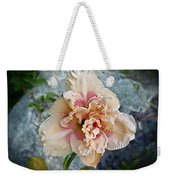 Beauty And The Boulder - Daylily Weekender Tote Bag