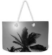 Beauty And The Palms In  Dominican Republic  Weekender Tote Bag