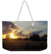 Beauty At Sunset Weekender Tote Bag
