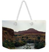 Beauty At The Big Horn River Weekender Tote Bag