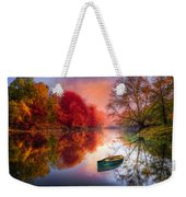 Beauty At The Lake Weekender Tote Bag