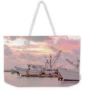 Beauty At The Marina Weekender Tote Bag