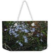 Beauty Blue Flowers Weekender Tote Bag