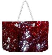 Beauty-full Red  Weekender Tote Bag