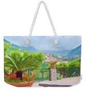 Beauty In Capri Weekender Tote Bag