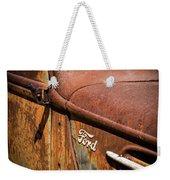 Beauty In Rust Weekender Tote Bag