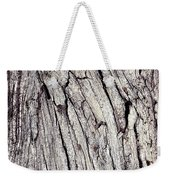 Beauty In The Cracks Of Old Wood Weekender Tote Bag