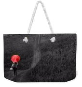 Beauty In The Silver Rain Bw Weekender Tote Bag