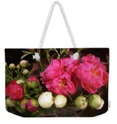Beauty In The Whole Foods Flower Dept. Weekender Tote Bag