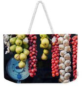 Beauty In Tomatoes Garlic And Pears Weekender Tote Bag