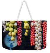Beauty In Tomatoes Garlic And Pears Weekender Tote Bag