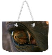 Beauty Is In The Eye Of The Beholder Weekender Tote Bag by Angela Rath