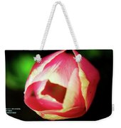 Beauty Is The Opening Weekender Tote Bag