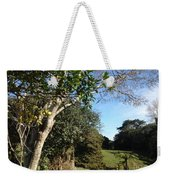 A Country Landscape  Weekender Tote Bag