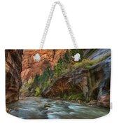 Beauty Of The Narrows Weekender Tote Bag