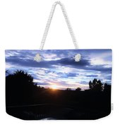 Somewhere The Sun Is Shining Weekender Tote Bag