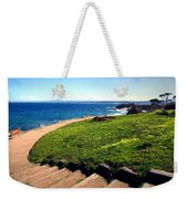 Beauty Of The Pacific Grove Shoreline Two Weekender Tote Bag