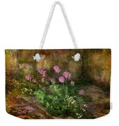 Beauty On An Old Stone Wall Weekender Tote Bag