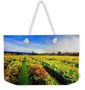 Beauty Over The Vineyard Weekender Tote Bag