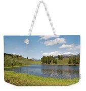 Beauty Swan Lake  Weekender Tote Bag