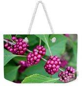 Beautyberry Bush Weekender Tote Bag