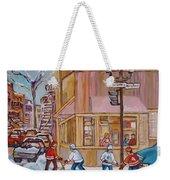 Beautys Restaurant  Weekender Tote Bag