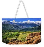 Beaver Meadows In Rocky Mountain National Park Weekender Tote Bag
