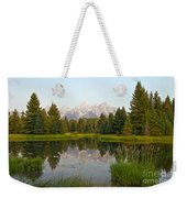 Beaver Pond At Schwabacher Landing Weekender Tote Bag