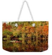 Beaver's Bend Canoeing Weekender Tote Bag