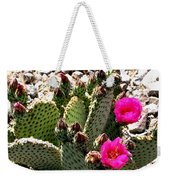 Beavertail Cactus Weekender Tote Bag