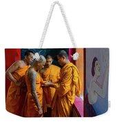 Becoming A Monk Weekender Tote Bag