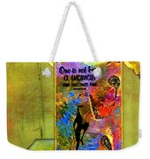Becoming A Woman Weekender Tote Bag