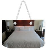 Bed Weekender Tote Bag