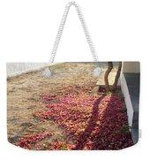 Bed Of Bougainvillea Weekender Tote Bag