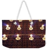 Bed Spring Lights Weekender Tote Bag