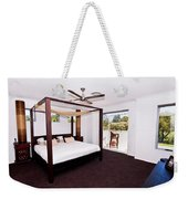 Bed With Canopy Weekender Tote Bag