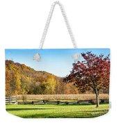 Bedford, Pa Fall Landscape Weekender Tote Bag