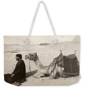 Bedouin At Prayer Weekender Tote Bag