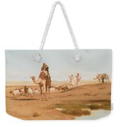 Bedouin In The Desert Weekender Tote Bag