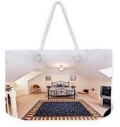 Bedroom With Sloping Ceiling Weekender Tote Bag