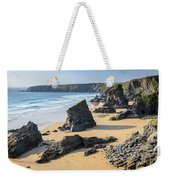 Bedruthan Steps, Cornwall Weekender Tote Bag