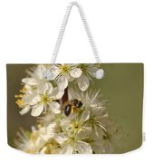 Bee And Blossoms Weekender Tote Bag