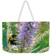 Bee And Its Lavender Delight Weekender Tote Bag