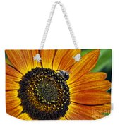 Bee And Sunflower. Weekender Tote Bag
