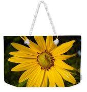 Bee And Yellow Flower Weekender Tote Bag